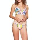 Tommy Hilfiger Bralette Longline Rpcheeky Side Tie core Solid Logo Wb-s Bikini Top