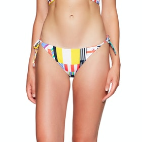 Sotto Bikini Tommy Hilfiger Cheeky String Side Tie cheeky bow Details-s - Memphis Prt