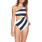 Costume Piscina Donna Tommy Hilfiger One Piece Cut Out