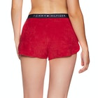 Tommy Hilfiger Logo Print Cotton Blend Women's Shorts