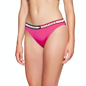 Tommy Hilfiger Details Bikini Bottoms - Fuchsia Purple