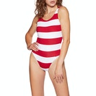 Tommy Hilfiger Scoop Back Striped Women's Swimsuit