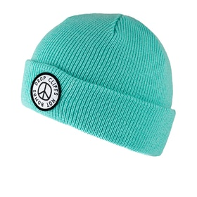 Bonnet Planks Peace - Teal