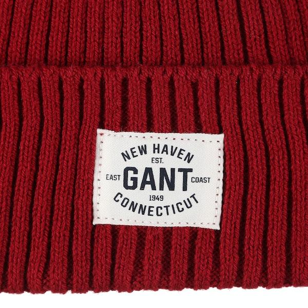 Gant Rib Knitted Kid's Beanie