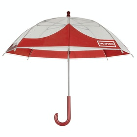 Hunter Original Kids Moustache Bubble Umbrella - Military Red