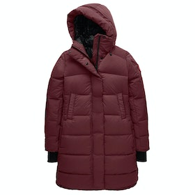 Canada Goose Alliston Longer Length Womens Bunda - Elderberry