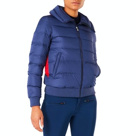 Perfect Moment Super Star Damen Snowboard-Jacke - Navy Red Snow White