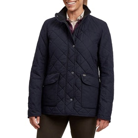 Le Chameau LCW12 Quilted Womens Bunda - Navy