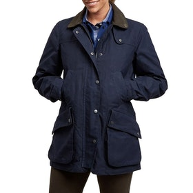 Le Chameau LCW14 Country Women's Wax Jacket - Navy