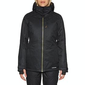 686 Aeon Insulated Womens Snow Jacket - Black Dobby