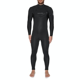 Rip Curl Dawn Patrol 5/3mm Chest Zip Wetsuit - Black