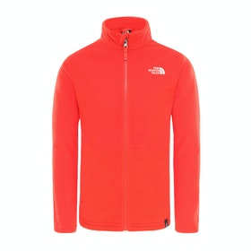 Polaire Enfant North Face Snow Quest Full Zip - Fiery Red