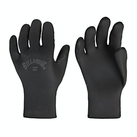 Billabong Absolute 2mm 5 Finger Boys Wetsuit Gloves - Black