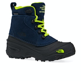 Bottes North Face Youth Chilkat II - Cosmic Blue Lime Green