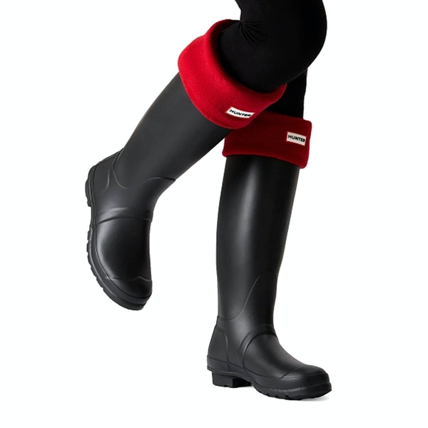 Hunter New Original Fleece Tall Wellington Socks