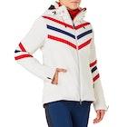 Perfect Moment Chevron Stripes Women's Snow Jacket