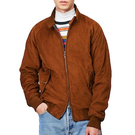 Baracuta G9 Winter Cord Authentic Fit Men's Jacket - Caramel