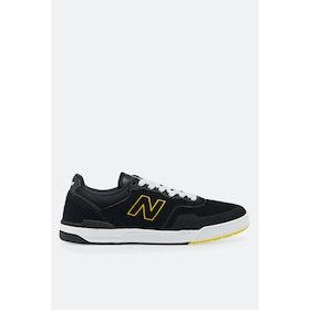 New Balance Numeric 913 Westgate Shoes - Black Yellow