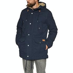Volcom Starget 5k Parka Waterproof Jacket - Navy