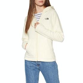 North Face Nikster Full Zip H Womens Fleece - Vintage White Light Heather