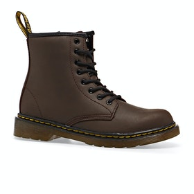 Dr Martens 1460 Serena Kids Boots - Dark Brown Republic Wp