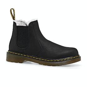 Dr Martens 2976 Leonore Kids Boots - Black Mohawk