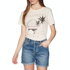 Billabong Bask In The Sun Ladies Short Sleeve T-Shirt