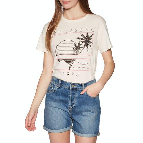 Billabong Bask In The Sun Ladies Short Sleeve T-Shirt