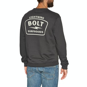 Lightning Bolt Bolt Surfboards Crew Sweater - Phantom