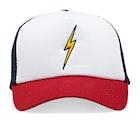 Lightning Bolt Bolt Trucker Cap