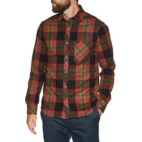 Lightning Bolt Chuck Flannel Shirt - Unique