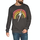 Lightning Bolt Rainbow Crew Sweater
