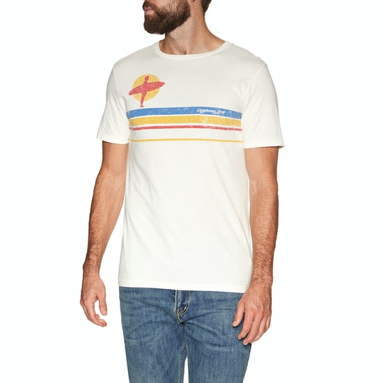 Lightning Bolt Sunset Surfer Short Sleeve T-Shirt