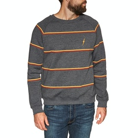 Lightning Bolt Walden Crew Sweater - Anthracite