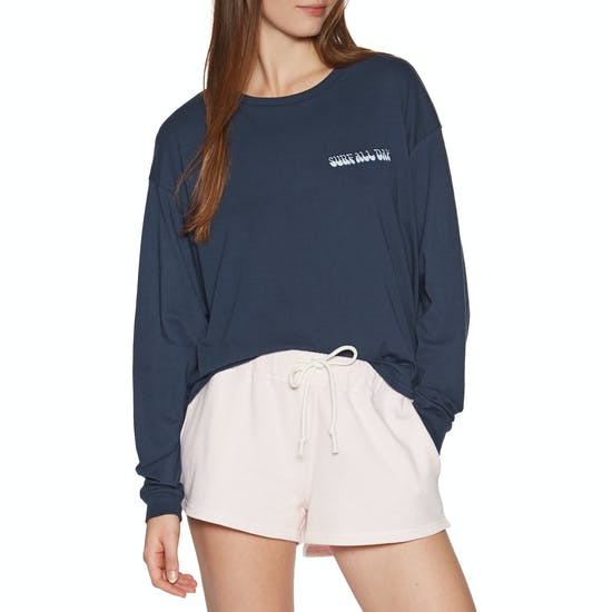 Sisstrevolution Surf All Day Knit Tee Ladies Short Sleeve T-Shirt