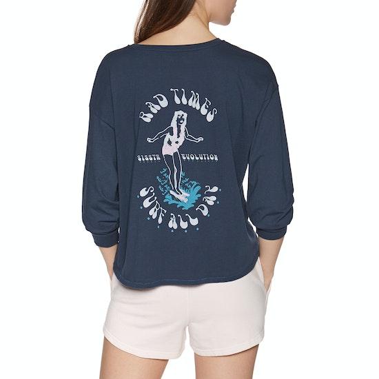 Sisstrevolution Surf All Day Knit Short Sleeve T-Shirt