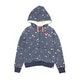 Animal Cluster Girls Zip Hoody