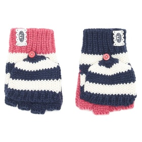 Guantes Girls Animal Fionnah Knitted Flip Mitt - Slate Rose Pink