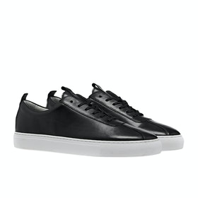 Grenson Sneaker 1 Shoes - Black Calf