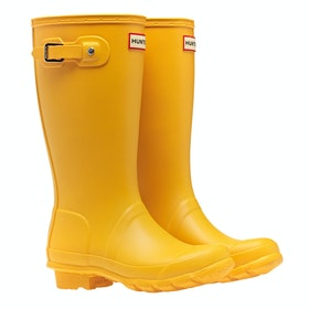 Hunter Original Childrens Wellington Boots - Yellow