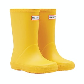 Hunter First Classic Childrens Wellington Boots - Yellow