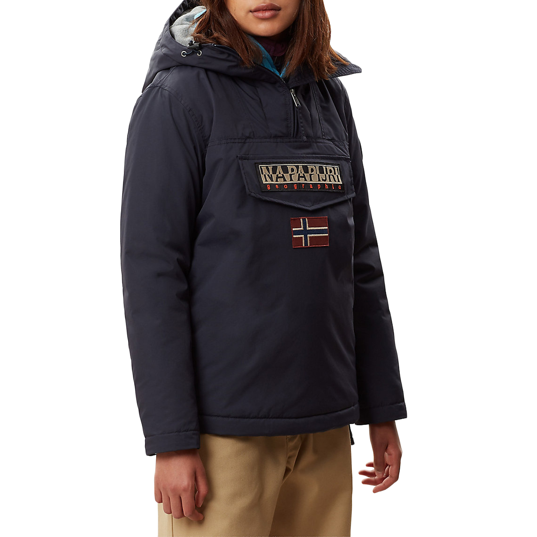 Napapijri Rainforest Winter 3 Women's Jacket Blu Marine