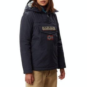 Napapijri Rainforest Winter 3 Womens Bunda - Blu Marine