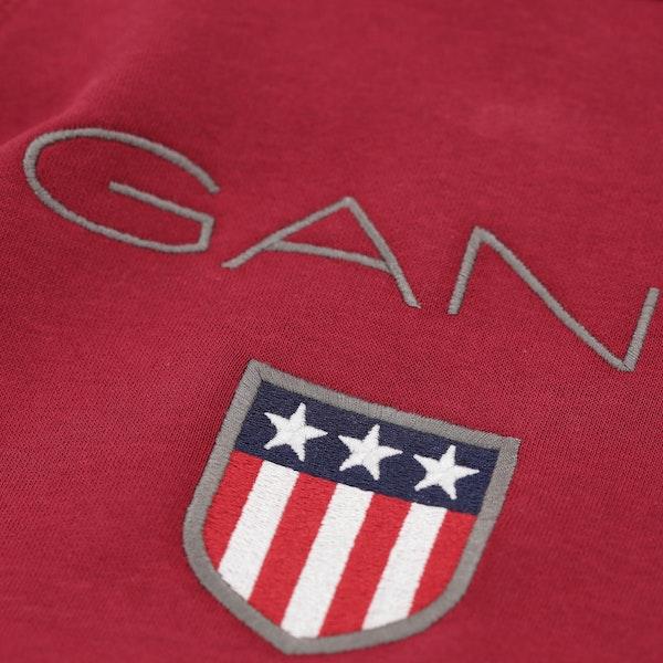 Pullover con Cappuccio Gant Shield Logo