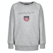 Gant Shield Logo Crew Neck Kid's Sweater