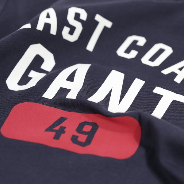 Gant Varsity Logos Kid's Short Sleeve T-Shirt