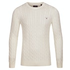 Knits Gant Cotton Cable Crew