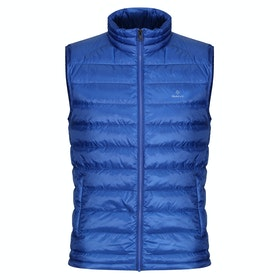 Gant Light Down Gilet - College Blue