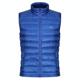 Gant Light Down Zateplená vesta - College Blue