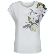 Ted Baker Sellie Opal Printed Woven Front Women's Short Sleeve T-Shirt